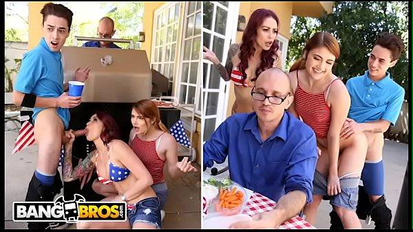 Branquinhas gostosas safadas fazendo um bom porno com seu vizinho